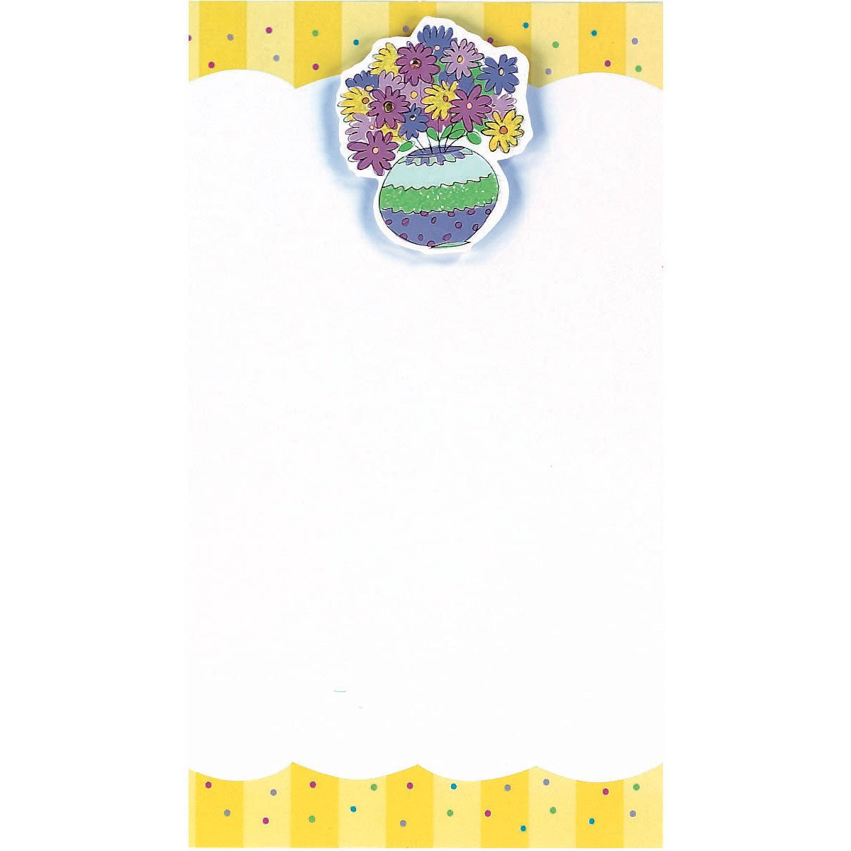 Flower Pot Imprintable Invitations 48 ct Party Supply 493566 TradeMart Inc