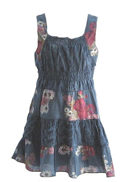 9b8315773aa4 Unbekannt Süßes Sommerkleid Kleid in blau, Größe 92, K81.2: Amazon ...