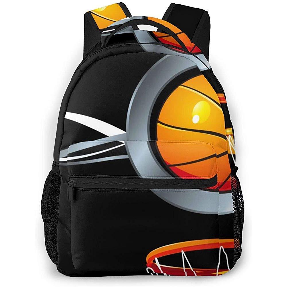 Mochila Viaje Baloncesto Marco Mochilas Escolares Hombro Laptop ...