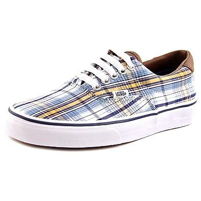 Vans Era 59 Men Round Toe Canvas Blue Skate Shoe Blue Size  7 UK ... c95032eec