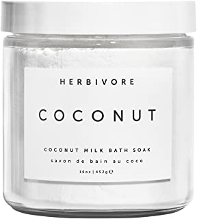 product image for Herbivore - Natural Coconut Milk Bath Soak | Truly Natural, Clean Beauty (16 oz)