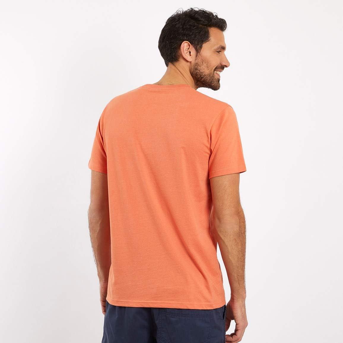 Weird Fish Fished Plain Branded T-Shirt Orangeade
