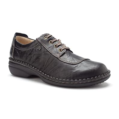 Finn Comfort Women's Lexington Black Plissee 36 European