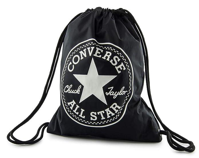 90913d22b6a00 Jungen-accessoires Converse Flash Gymsack Rucksack Sportrucksack Tasche Black  Schwarz Neu