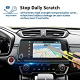 LFOTPP 2017 2018 Honda CRV Trapezoid Tempered Glass Protector for CRV Special 7-inch in-Dash Center Navigation Screen Display Lx Ex Ex-l Touring (7-inch)