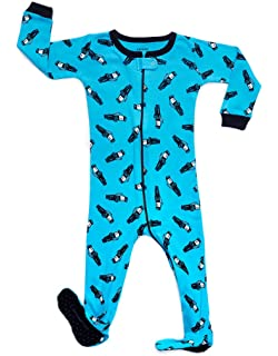 55931f131 Amazon.com  Little and Baby Girls Footed Flamingo Pajamas Sleeper ...
