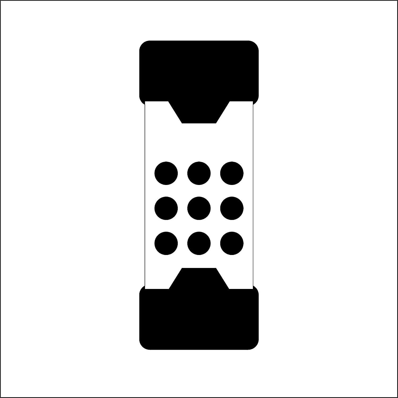 ergonomisch geformtem und lackiertem Hickorystiel SUPERCRAFT-Schonh/ämmer mit schwingungsd/ämpfendem 3366.060 /Ø=60 mm