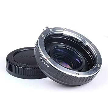for Focus Reducer for Canon EF Lens with Micro 4//3 M4//3 Camera Lens Yunchenghe EOS-M4//3 Speed Booster Adjustable Aperture