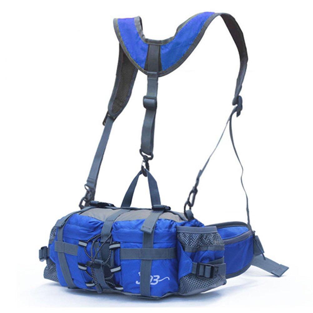 Outdoor Peak Unisex Nylon impermeable Cintur/ón Bolsa de viaje mochila Messenger Bag/ /Ri/ñonera Mochila de viaje bolsa de deporte Senderismo Bicicleta Snowboard Plus hombro color Azul tama/ño talla /única Blau1