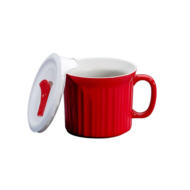 Pop-Ins 20 oz. Mug Color: Tomato