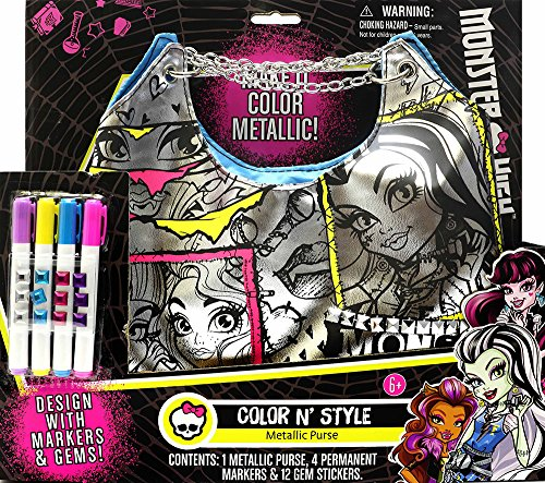 Crafts Monsters (Tara Toys Monster High Color N Style Fashion Tote Activity)
