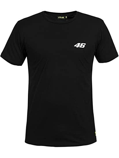225e2e5047cf Valentino Rossi Black Core Small 46 T-Shirt: Valentino Rossi: Amazon.co.uk:  Clothing