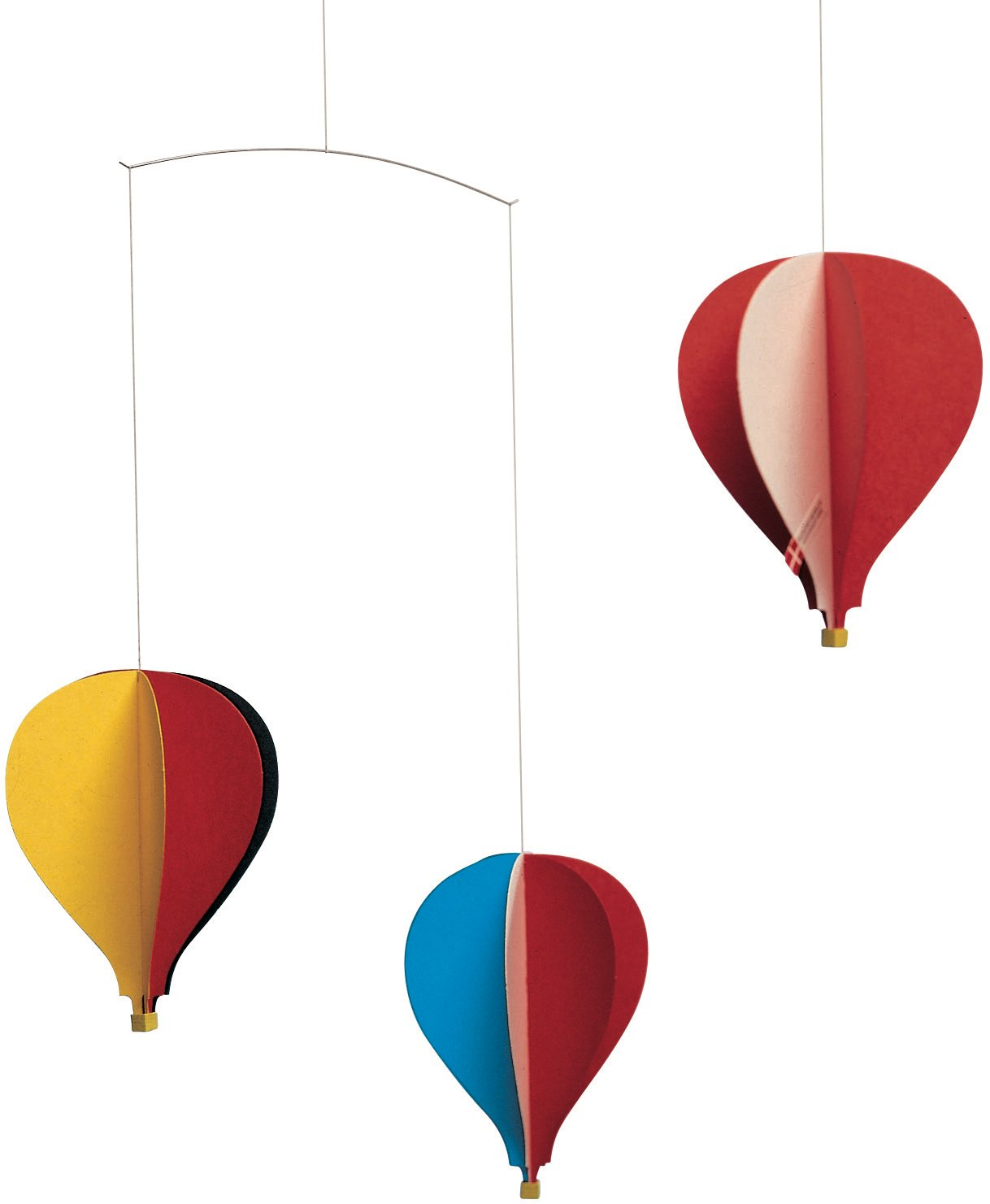 Flensted Mobiles Balloon 3 Hanging Nursery Mobile - 18 Inches Cardboard