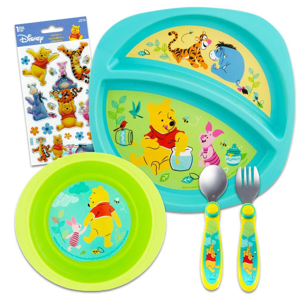 Amazon.com: Disney Winnie the Pooh - Juego de vajilla para ...
