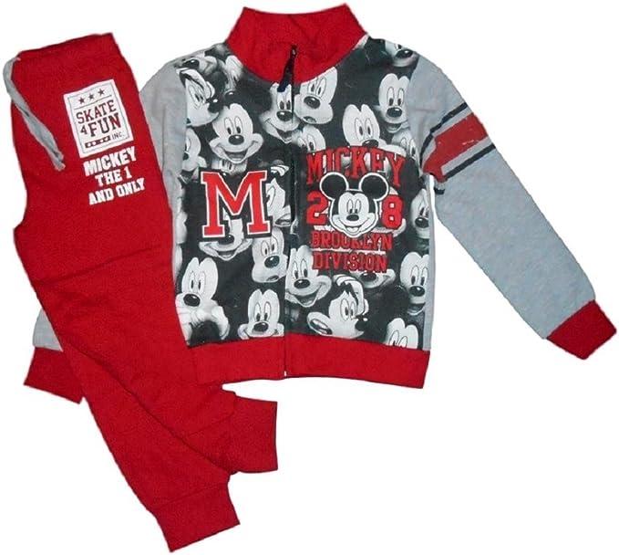 Disney Mickey Mouse - Chándal Infantil con Sudadera y Pantalones ...