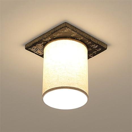 BRIGHTLLT Nuevo Hyun chino fuera de las luces luz en el techo en los pasillos moderno