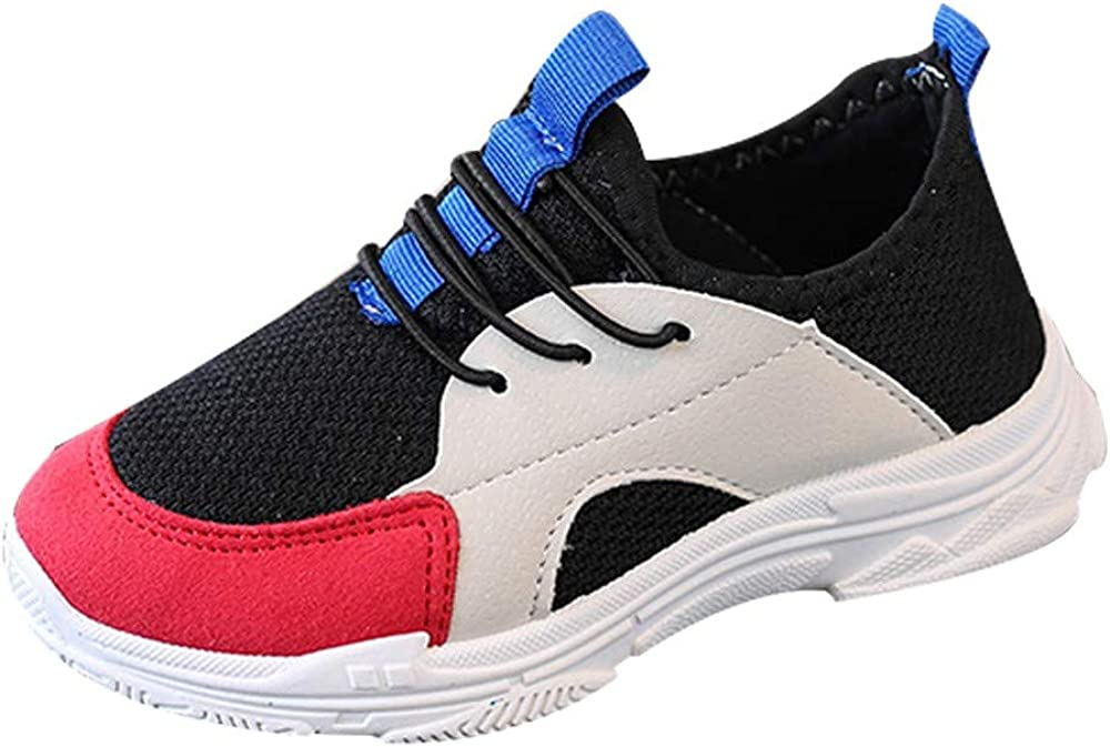 Barerun Kids Fashion Sneakers Tennis Breathable Running Shoes Walking Outdoor Indoor Shoes for Boys Girls