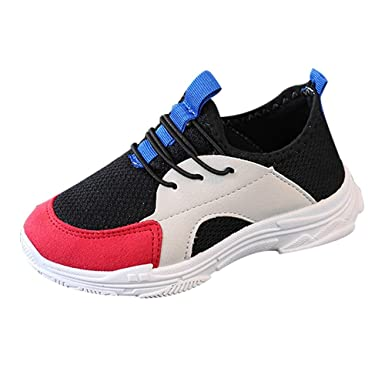 Cenyanga Baby Boy Girl Sport Run Sneaker costura malla ...