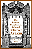 Talmud Bekoroth and Arakin (Soncino Babylonian Talmud Book 44)
