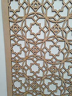 5 Pack Radiator Cabinet Cover Decorative Screening Perforated Mdf
