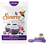 Swerve Confectioners Sweetener (12 oz, Pack of 3) + Measuring Spoons: The Ultimate Sugar Replacement