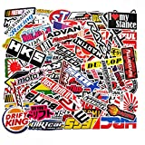 100 PCS Japanese Domestic Market JDM Waterproof Stickers Letter Trend...