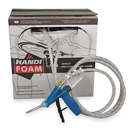 Handi-Foam p10695 75 Spray de espuma de poliuretano aislamiento techo parche (2,