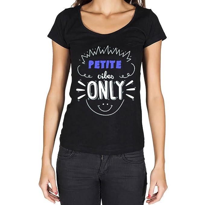 Petite, mujer camisetas, vibes only camiseta, camiseta regalo