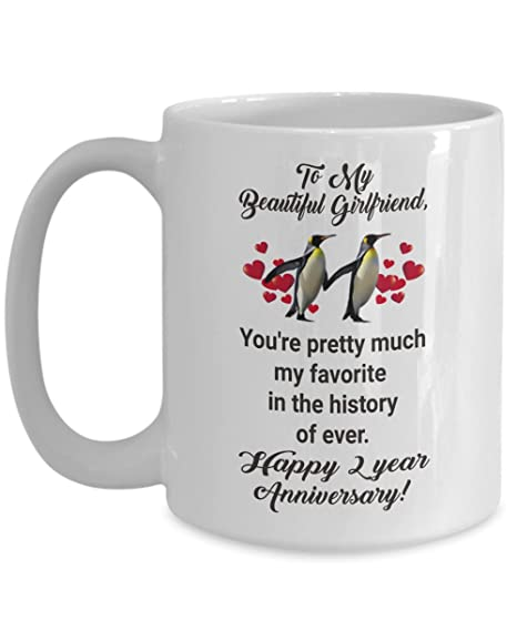 Image Unavailable. Image not available for. Color 2 Year Dating Anniversary Gifts ...  sc 1 st  Amazon.com & Amazon.com: 2 Year Dating Anniversary Gifts for Girlfriend from ...