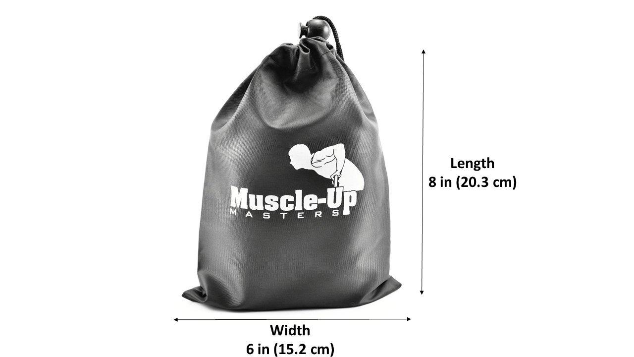muscle-up Masters - Calistenia antebrazo y agarre entrenador - barra espesante para barra de dominadas pesas mancuernas pesas rusas - 1 par: Amazon.es: ...