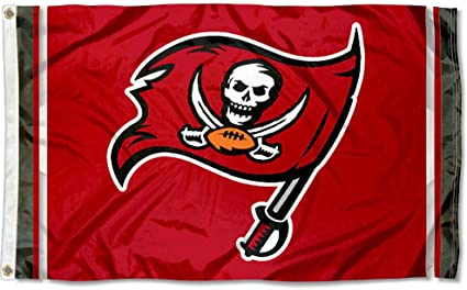 WinCraft Tampa Bay Buccaneers TB Large NFL 3x5 Flag