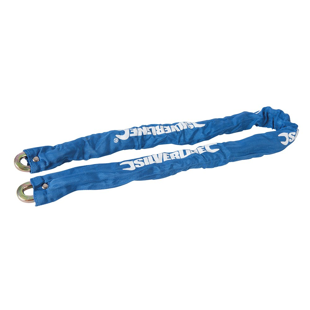 Silverline 719795 High Security Chain with Woven Sleeve 1200 x 9.5mm SLTL4