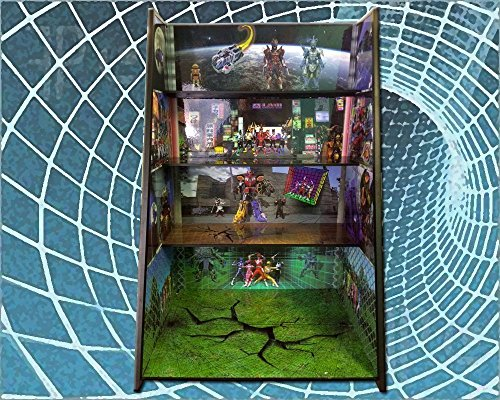 Power Rangers Play and Display Shelving by PlayandDisplays