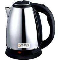 Triones SS Electric Kettle , 1.8 L, Silver