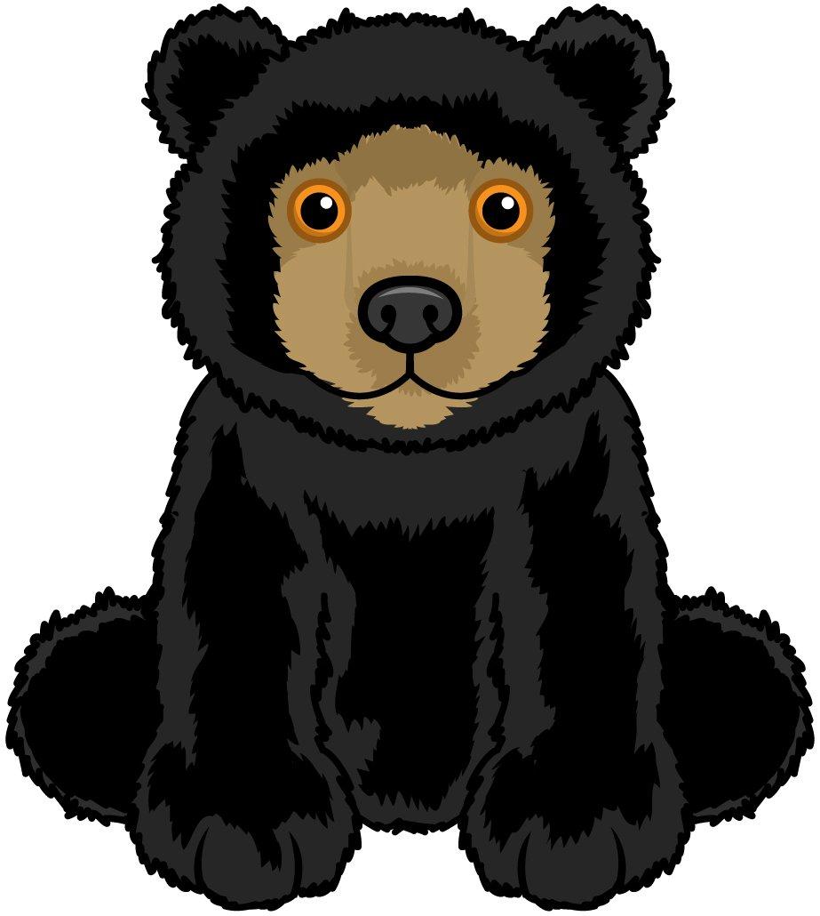amazon com webkinz smaller signature black bear toys games rh amazon com cartoon black bear standing up cartoon black bear cub