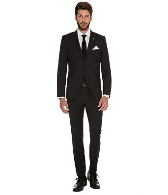 2e94ace4184797 Marzotto - Modern Fit - Herren Baukasten Anzug aus Super 120 S Schurwolle