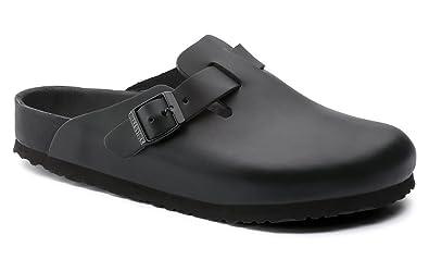55c63a24228 Birkenstock Womens Boston Exquisite Black Size  40 M EU  Amazon.co.uk   Shoes   Bags