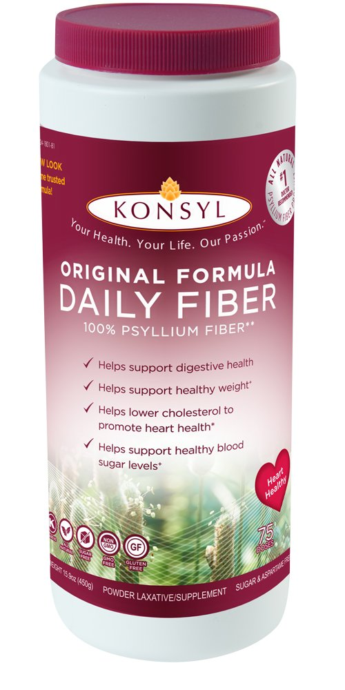 Konsyl Original Formula Daily Fiber,Pack of 1