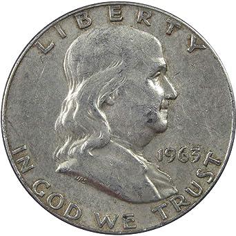 1963 50C Franklin Silver Half Dollar BU