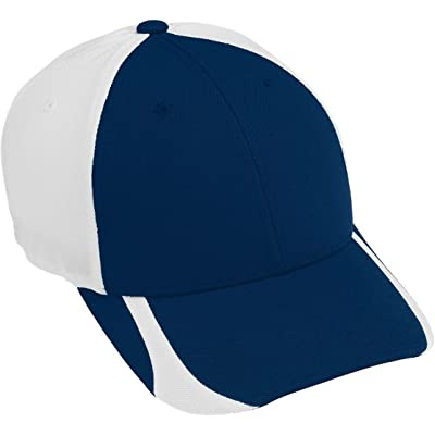 Augusta Flexfit Contender Cap - Youth - Graphite/white