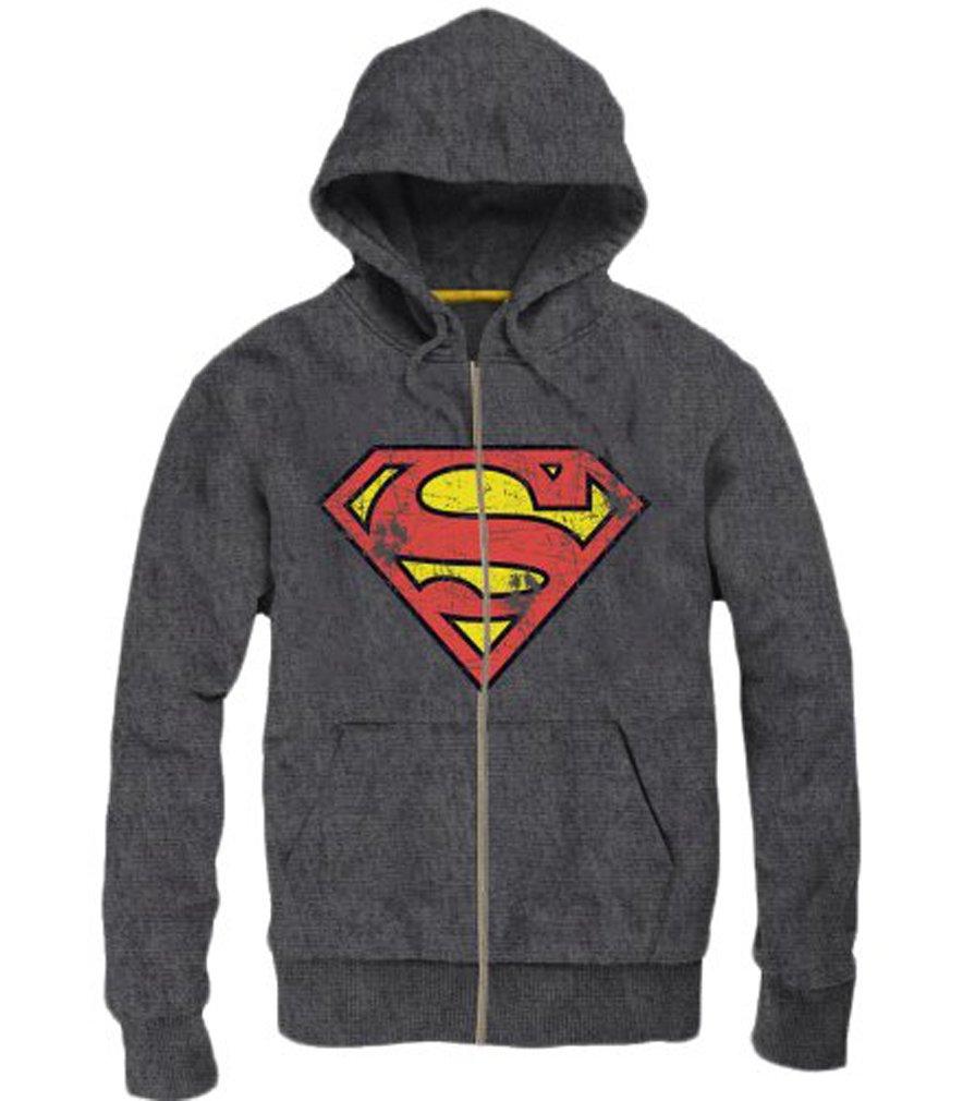 Original Sudadera con Capucha superman-Sweat de Capuche-Veste ...