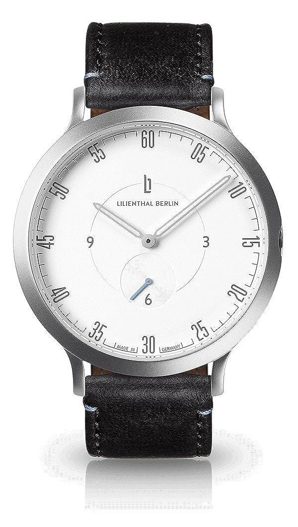Lederarmband Made Unisex Germany L1Prämiertes Design Lilienthal Qualität Berlin Mit Armbanduhr In 5A34RjL