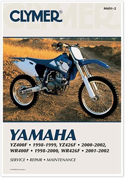 [DIAGRAM_1CA]  Amazon.com: Clymer Repair Manual for Yamaha YZ400/426F WR400/426F 98-02:  Automotive | Wiring Schematic Yamaha Yz400 |  | Amazon.com