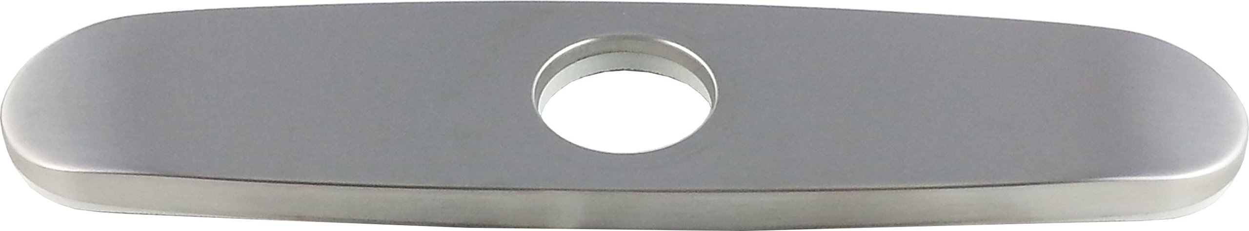 Wellington 1002bn Kitchen Sink Faucet 8 Inches Hole Cover Deck Plate, Brushed Nickel PVD