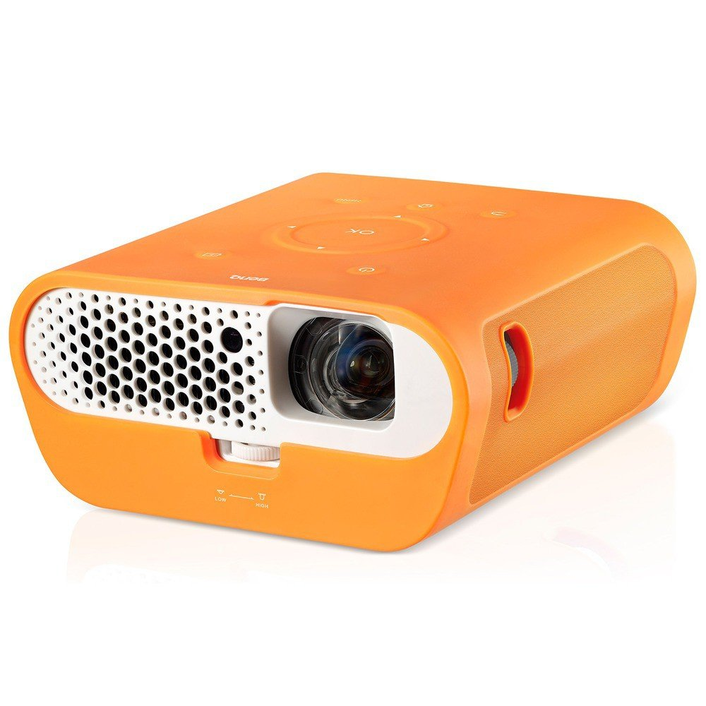 Benq GS1 data projector 300 ANSI lumens DLP 720p (1280x720) 3D Portable projector White B01LYM41M7