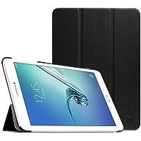 Fintie Hülle für Samsung Galaxy Tab S2 9.7 T810N / T815N / T813N / T819N 24,6 cm (9,7 Zoll) Tablet-PC - Ultra Schlank Ständer Cover Schutzhülle mit Auto Schlaf/Wach Funktion, Schwarz