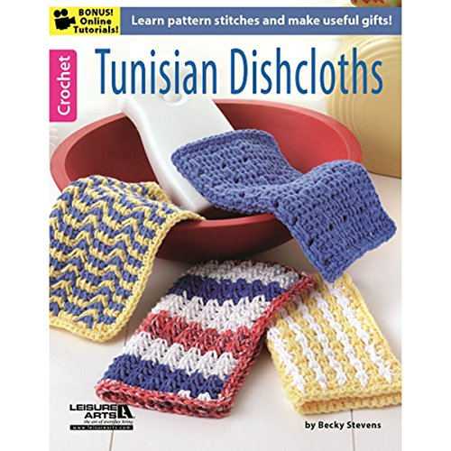 LEISURE ARTS-Tunisian Dishcloths ()