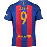 2016-2017 Barcelona Home Nike Shirt (Kids) - with sponsor