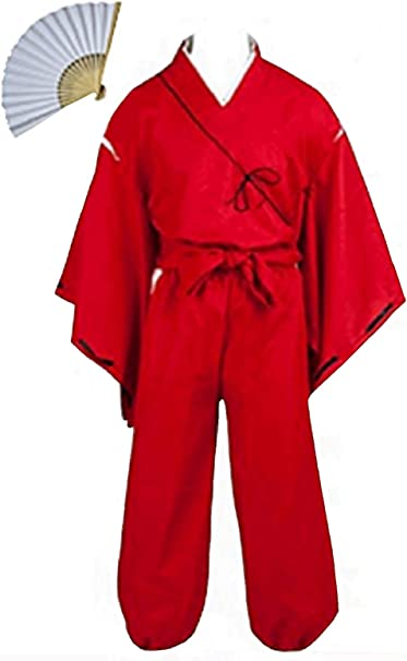 Amazon.com: Fuji Inuyasha Hero Higurashi Cosplay Costume ...