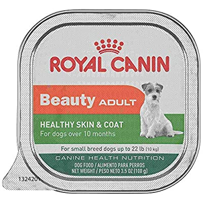 Royal Canin Canine Health Nutrition Beauty Adult in Gel Tray Dog Food